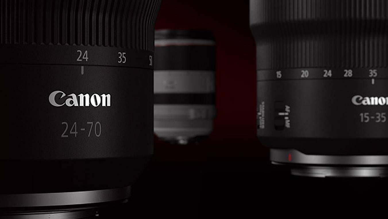 佳能发布多款RF镜头更新固件